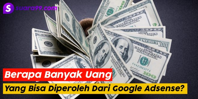 Uang dari Google Adsense